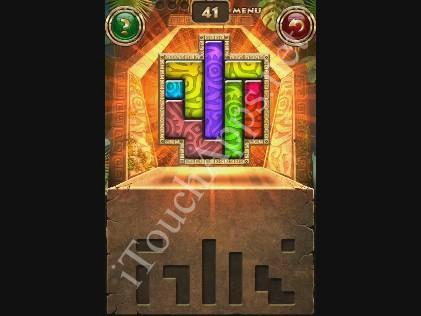 Montezuma Puzzle Level 41 Solution