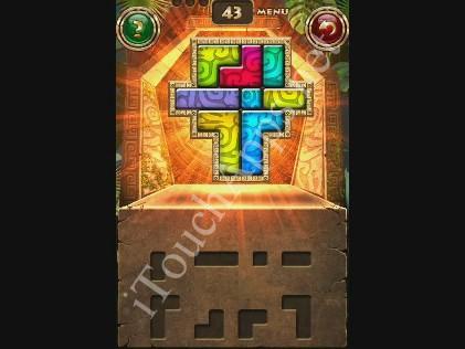Montezuma Puzzle Level 43 Solution