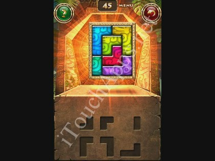 Montezuma Puzzle Level 45 Solution