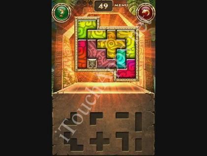 Montezuma Puzzle Level 49 Solution