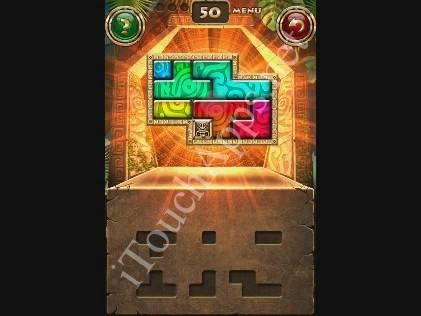 Montezuma Puzzle Level 50 Solution