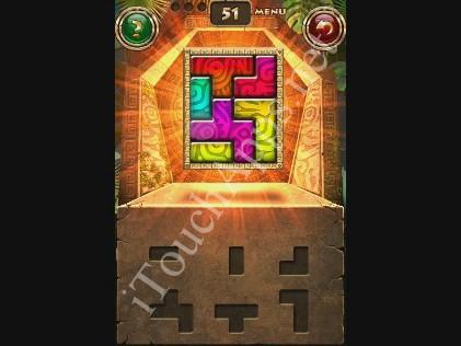 Montezuma Puzzle Level 51 Solution