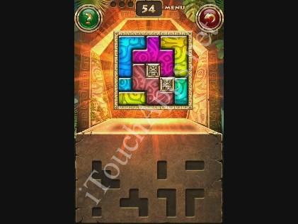 Montezuma Puzzle Level 54 Solution