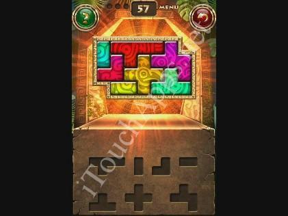 Montezuma Puzzle Level 57 Solution