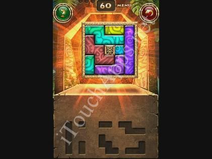 Montezuma Puzzle Level 60 Solution