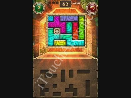 Montezuma Puzzle Level 62 Solution