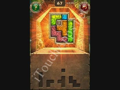 Montezuma Puzzle Level 67 Solution