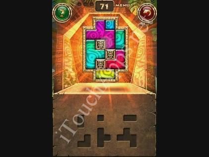 Montezuma Puzzle Level 71 Solution