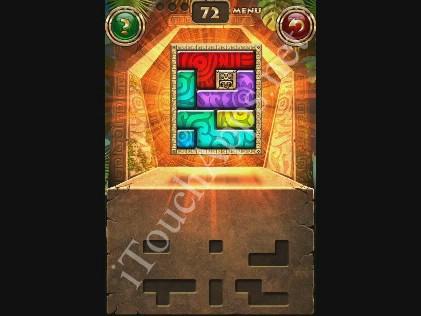 Montezuma Puzzle Level 72 Solution