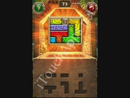 Montezuma Puzzle Level 73 Solution