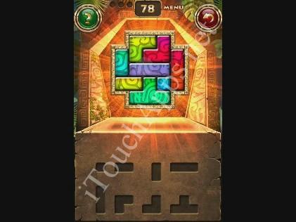 Montezuma Puzzle Level 78 Solution