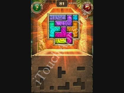 Montezuma Puzzle Level 81 Solution