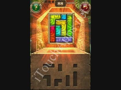 Montezuma Puzzle Level 88 Solution
