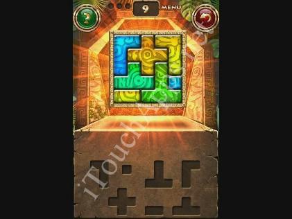Montezuma Puzzle Level 9 Solution