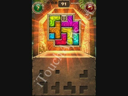 Montezuma Puzzle Level 91 Solution