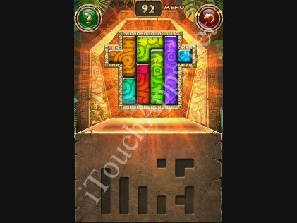 Montezuma Puzzle Level 92 Solution