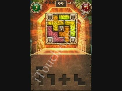 Montezuma Puzzle Level 99 Solution