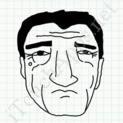 Badly Drawn Faces Robert De Niro