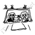 Badly Drawn Movies Thelma and Louise