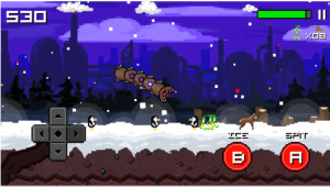 Super Mega Worm vs. Santa 2 Review