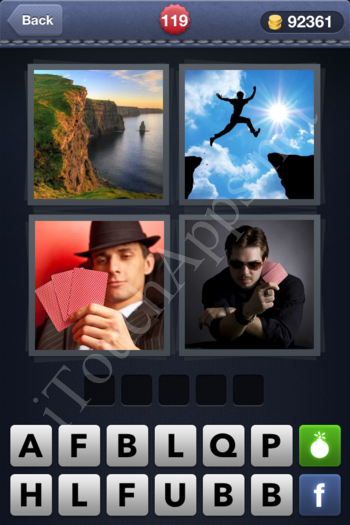 4 Pics 1 Word Level 119 Solution