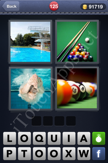 4 Pics 1 Word Level 125 Solution