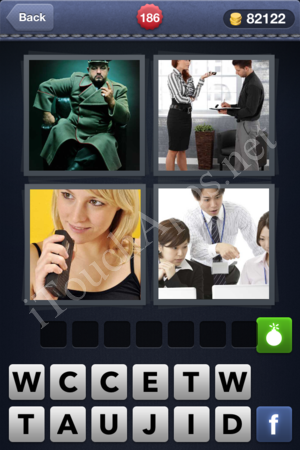 4 Pics 1 Word Level 186 Solution