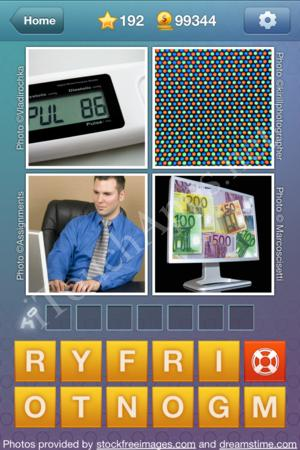 What's the Word Level 192 Solution