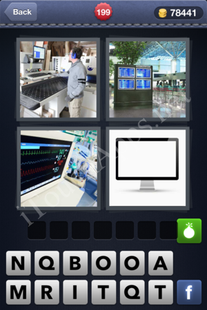 4 Pics 1 Word Level 199 Solution