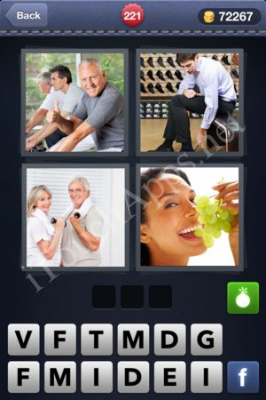 4 Pics 1 Word Level 221 Solution