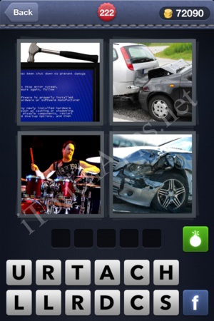 4 Pics 1 Word Level 222 Solution