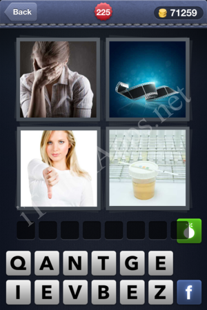 4 Pics 1 Word Level 225 Solution