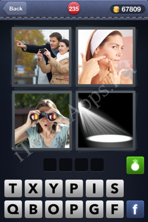 4 Pics 1 Word Level 235 Solution