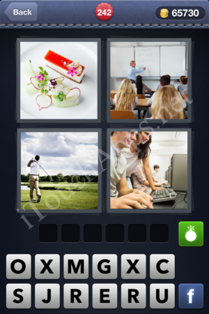 4 Pics 1 Word Level 242 Solution