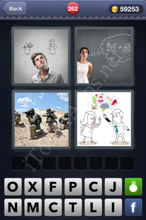 4 Pics 1 Word Level 262 Solution
