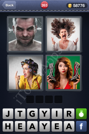 4 Pics 1 Word Level 263 Solution