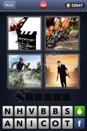 4 Pics 1 Word Level 280 Solution