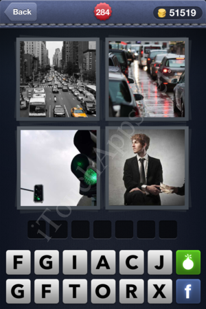 4 Pics 1 Word Level 284 Solution