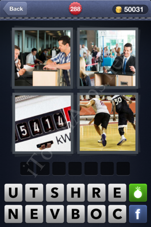 4 Pics 1 Word Level 288 Solution
