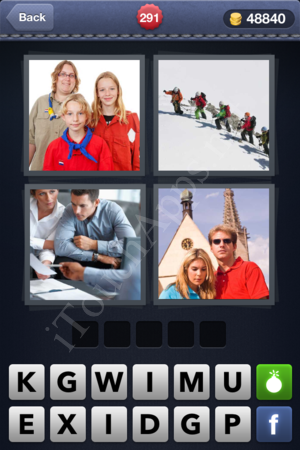4 Pics 1 Word Level 291 Solution