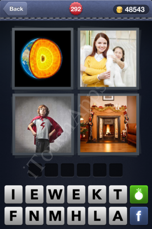 4 Pics 1 Word Level 292 Solution
