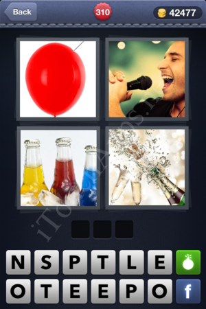 4 Pics 1 Word Level 310 Solution