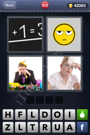 4 Pics 1 Word Level 312 Solution