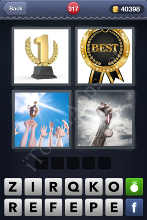 4 Pics 1 Word Level 317 Solution
