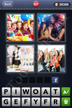 4 Pics 1 Word Level 327 Solution