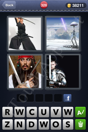 4 Pics 1 Word Level 328 Solution