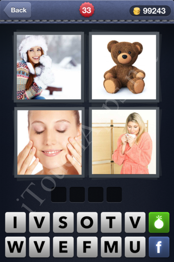4 Pics 1 Word Level 33 Solution