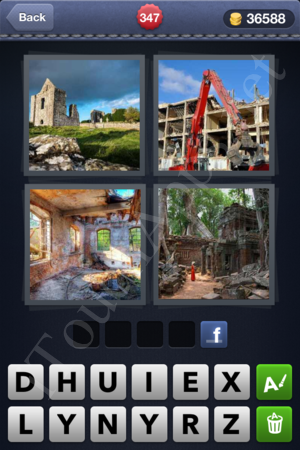 4 Pics 1 Word Level 347 Solution