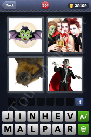 4 Pics 1 Word Level 354 Solution