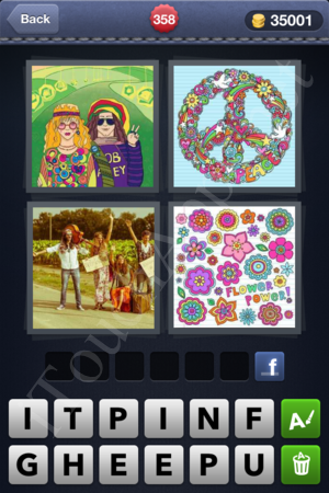 4 Pics 1 Word Level 358 Solution